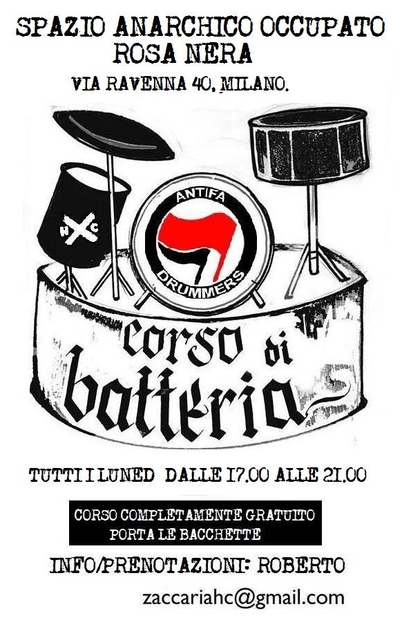 antifa drummers